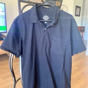 Mens Black St Johns Bay Polo